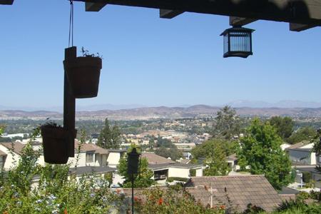 Anaheim city view