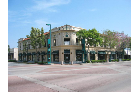 Fullerton downtown