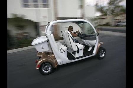 South Brea Lofts Electric Car