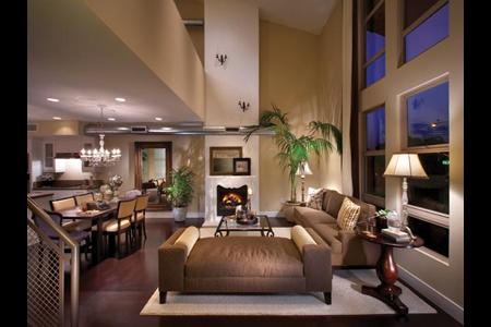 South Brea Lofts Living Room