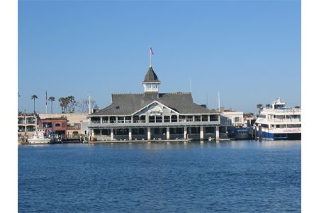 Newport beach pavillion