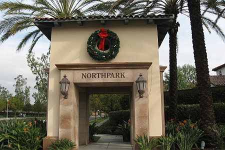 Northpark sign