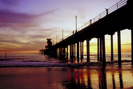 Orange county pier
