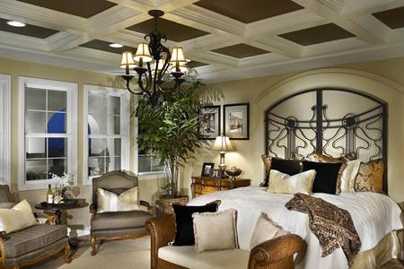 Vista Del Verde Hertiage Master Bedroom