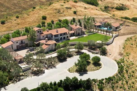 shady canyon estate home