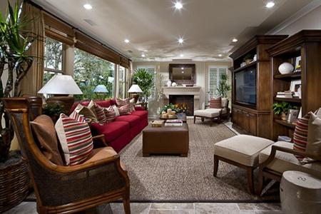 Stonegate Maricopa Living Room