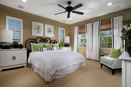 Canopy Lane master bedroom