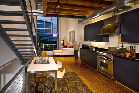 City Place Santa Ana Kitchen