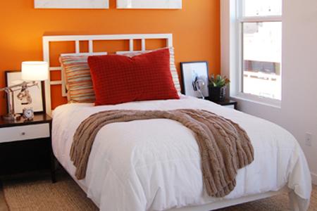 Santa ana lofts bedroom