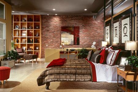 artist village santa ana bedroom