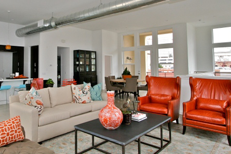 santiago street lofts Santa Ana family room