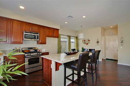 bishop villas cypress kitchen