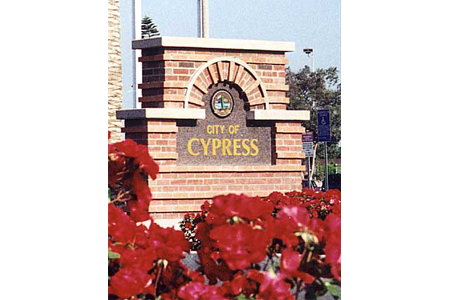 cypress new entry sign