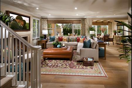 Woodbury San Marino family room