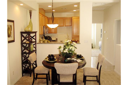 Belmont townhomes cypress dining