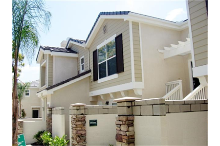 Belmont townhomes cypress exterior2