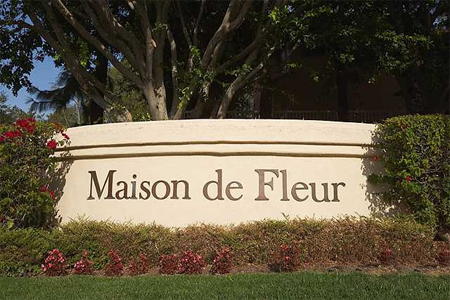 Maison de Fleur sign