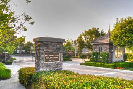 Presidential Collection Fullerton Entrance
