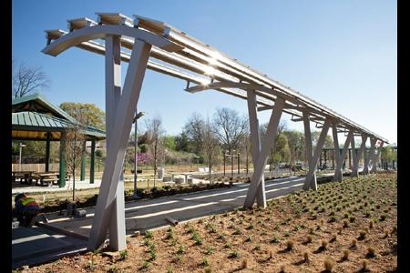 Stanton Park overhangs