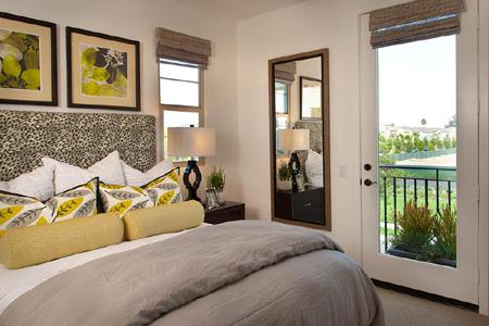Colony park casita bedroom