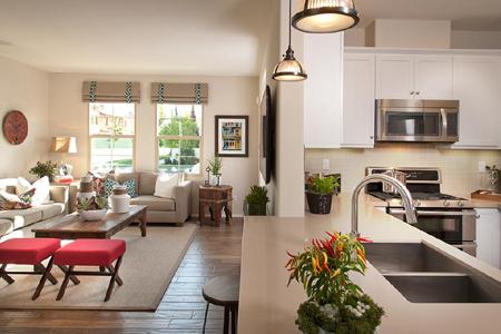 Colony park casita family room-kitchen