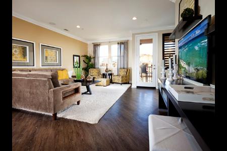 Tesoro trails living room