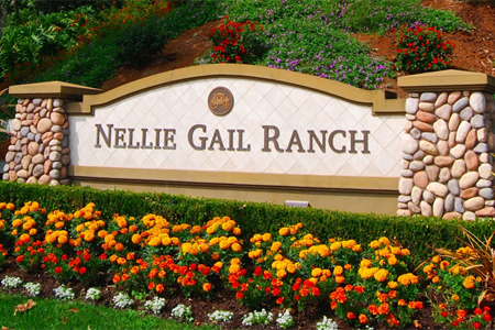 Nellie gail ranch sign