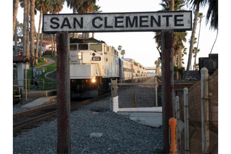 San clemente sign
