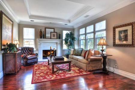 Rancho Madrina living room
